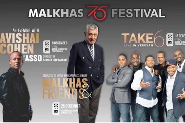 Festival Malkhas 75 de jazz armenio