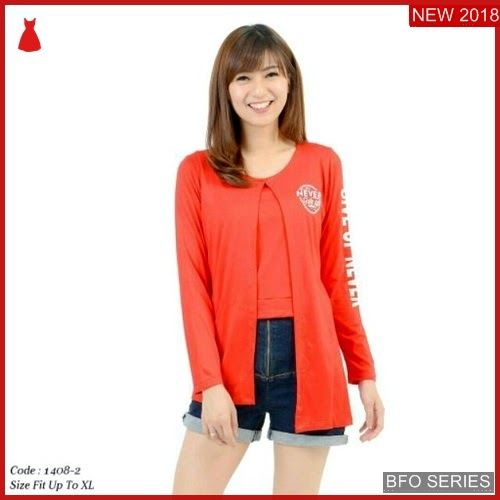 BFO057B21 NEVER Model UP BLOUSE Jaman Now KEKINIAN BMGShop