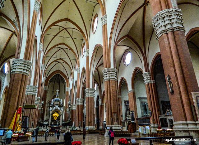 Basílica de São Petrônio, Bolonha, Itália