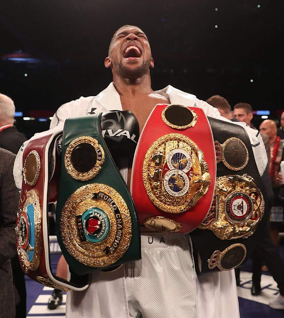 Anthony Joshua Calls Out Deontay Wilder After Beating