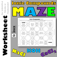 Ionic Compounds Maze