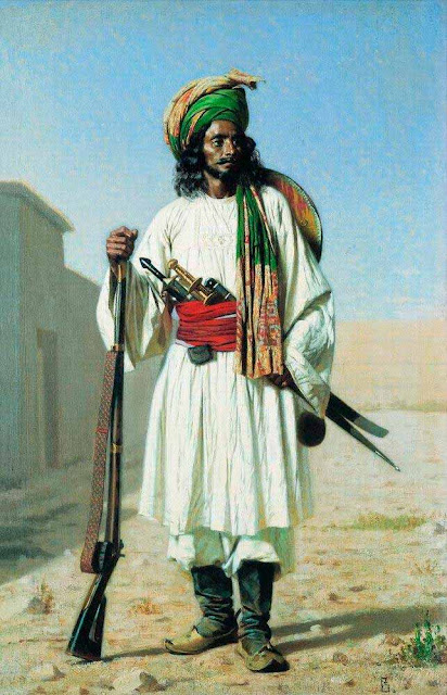 Василий Васильевич Верещагин - Афганец. 1867-1868