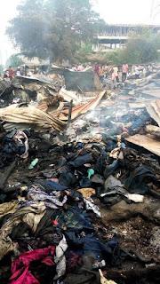 Kongowea Market burnt
