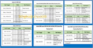 Info UN : Jadwal UN (UNBK dan UNKP) SMA/MA/SMK/Paket C Tahun Pelajaran 2019/2020