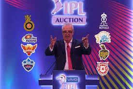 AUCTION EVENT IPL 2020