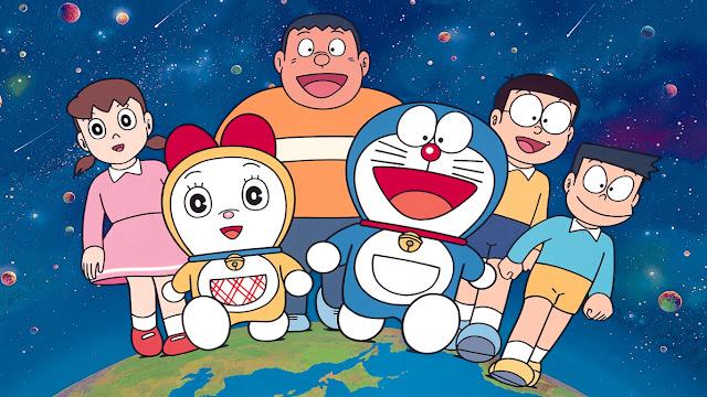 doraemon, dorami, nobita, gian, suneo, shizuka