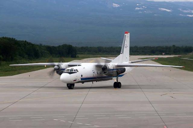 Avião de modelo AN-26