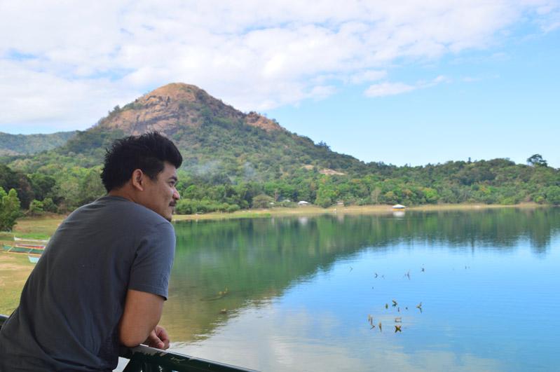 Lake Mapanuepe View Deck