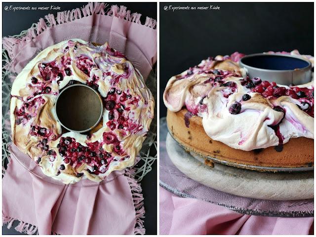 Beerenkranz mit Baiserhaube | Backen | Kuchen