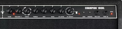 Channel 2 Fender Champion 100 XL Guitar Amp