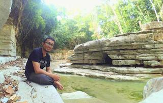Fauzal Azifa Aiyub Pengunjung Wisata Lingkok Kuwieng