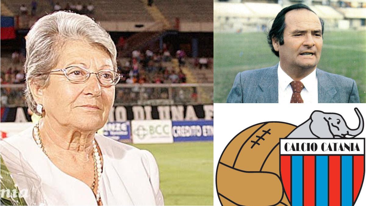 Grazia Codiglione Calcio Catania Angelo Massimino