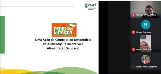 Entidades do Cariri são capacitadas sobre o Programa Mais Nutrição
