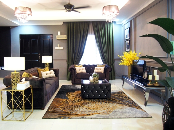 Dekorasi Rumah Raya Ruang Tamu
