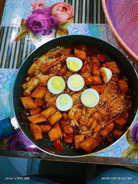 Bagi Penggemar Makanan Korea Jom Buat Spicy Enoki Gerenti Makan Sampai Licin Port Makan