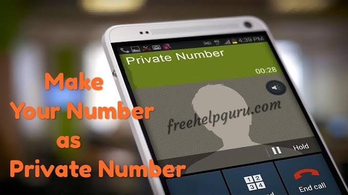 अपना कॉल नम्बर हाईड कैसे करें - Apna Call Number Hide Kaise Kare