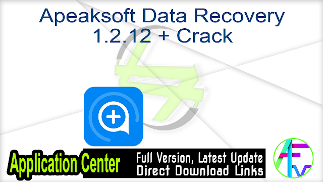 Apeaksoft Data Recovery 1.2.12 + Crack