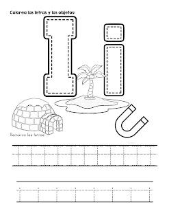 grafomotricidad letras