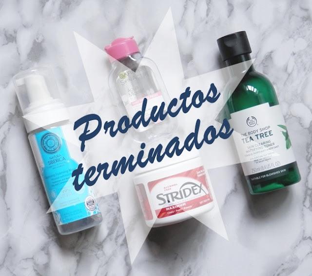 belleza cosmetica terminados productos