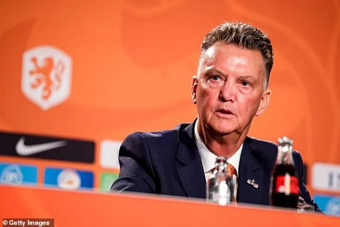 Louis van Gaal reveals his ambition to lead Holland to World Cup glory
