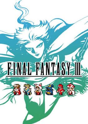 Capa do Final Fantasy III: Pixel Remaster