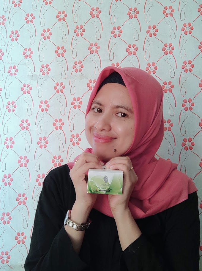 REVIEW MARESHA GREEN GLOW EXTRA GLOWING