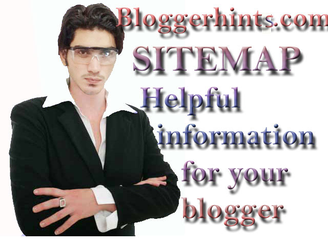 SITEMAP bloggerhints
