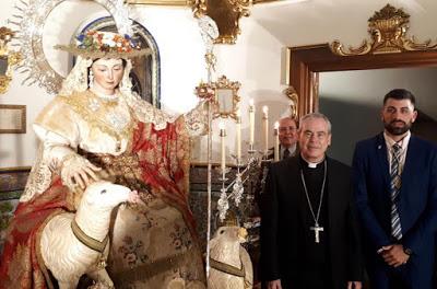 La Divina Pastora inicia el camino a su Coronación Canónica en Málaga