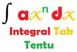 Rumus Lengkap Integral Tak Tentu: Contoh dan Pembahasannya