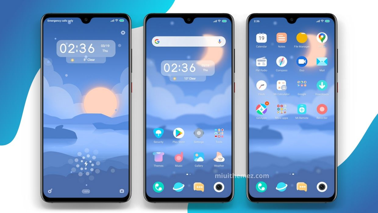 Panorama MIUI Theme - Best Decent and Clean Looking Mi Theme