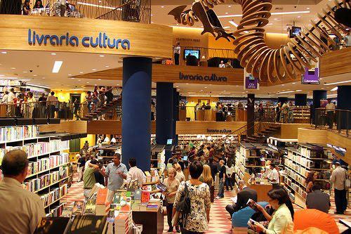 São Paulo: Livraria Cultura está entre as 10 mais lindas do mundo