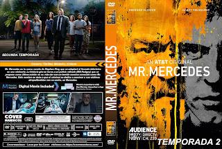 SERIE MR. MERCEDES TEMPORADA 2  ( COVER DVD )