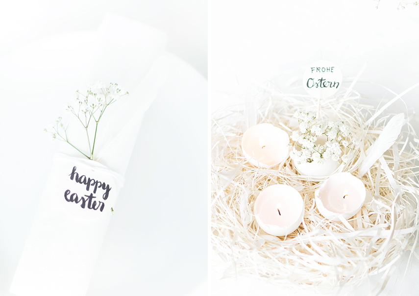 white easter decoration