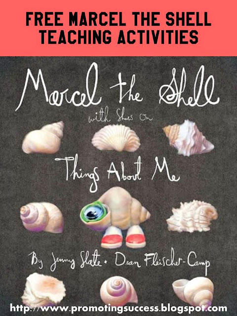 marcel the shell book activities for kids