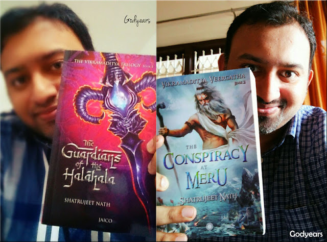 Two books of the Vikramaditya Veergatha - Guardians of the Halahala and the Conspiracy at Meru