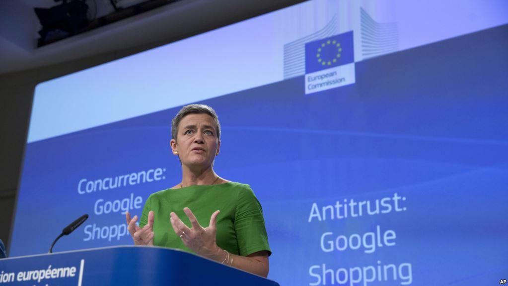 La comisaria de Competencia de la UE, Margrethe Vestager / AP
