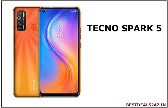 Tecno Spark 5 launched in India