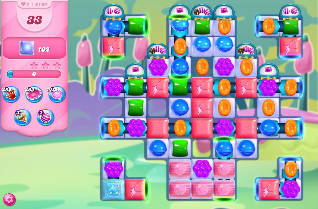 Candy Crush Saga level 9164
