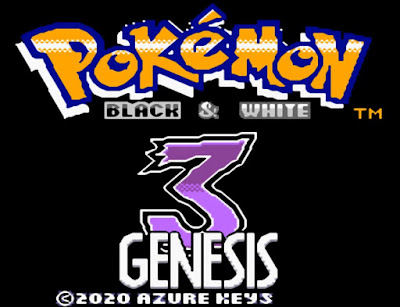 Pokemon Black and White 3 Genesis para GBC Imagen Portada