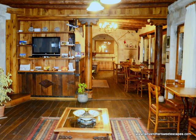 Kelebek Special Cave Hotel restaurant