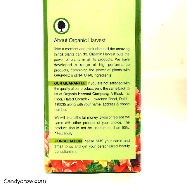 Organic-harvest-hair-oil-review-price
