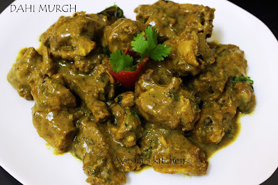Curd chicken yoghurt chicken kerala roast indian chicken gravy