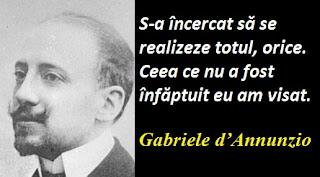 Citatul zilei: 12 martie - Gabriele d'Annunzio