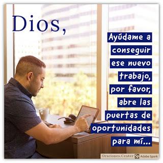 Oración para Conseguir un Nuevo Trabajo