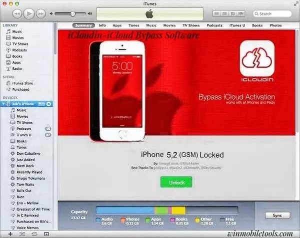 iCloudin V1.0.2 iCloud Bypass Software Latest Version Free Download