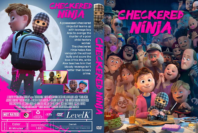 Checkered Ninja DVD Cover