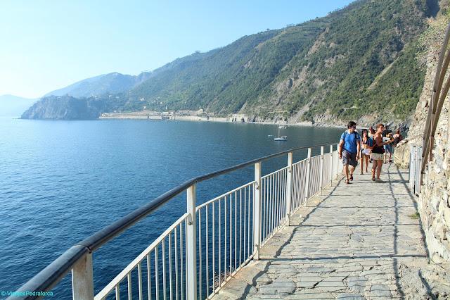 Sentiero Azzurro, Cinque Terre, Manarola, Italia, Unesco World Heritage, Patrimoni de la Humanitat