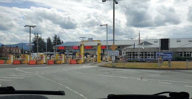 Welcome Back to US soil US Border in Sumas Washington