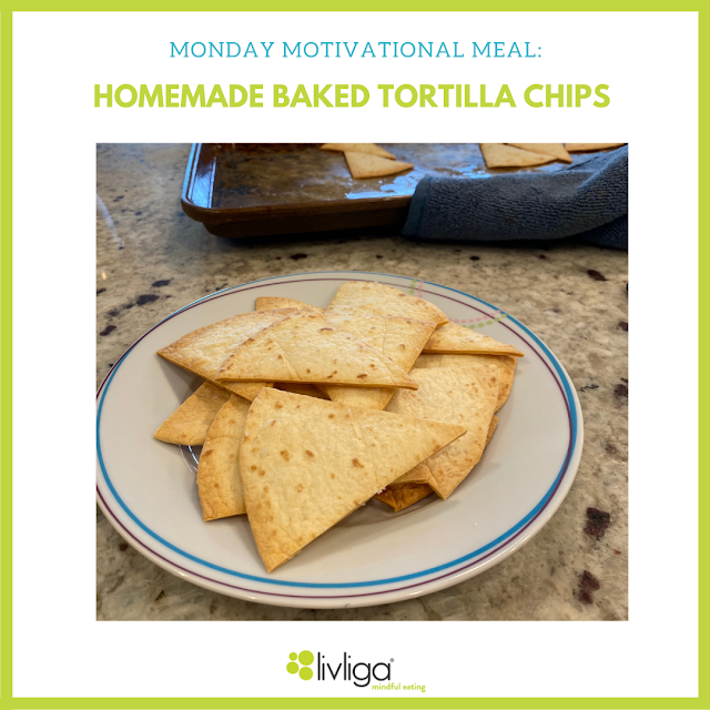 Healthy Homemade Tortilla Chips Served Up on Livliga