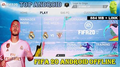 FIFA 2020 MOD FIFA 14 Offline 800 MB New Menu Face